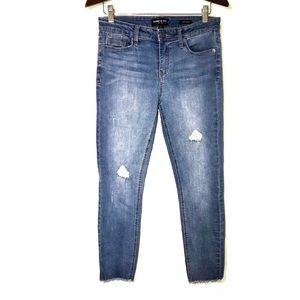 Kenneth Cole Jess Skinny distressed skinny jeans